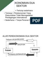 Bab III Perekonomian Dua Sektor