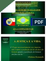 AULA COMPLEMENTAR DO 28º CFSD - 2011