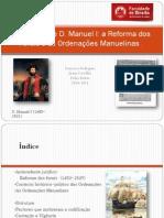 Ordenações Manuelinas - Subturma 12