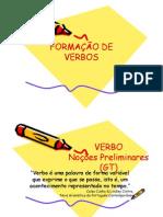 Formação de Verbos - Grupo 1