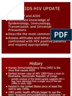Cdc Aids Hiv Update
