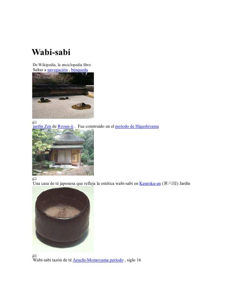 Wabi Sabi Japones
