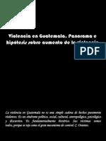 panorama de violencia-Victimización