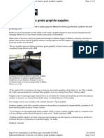 Concern Over Battery Grade Graphite Supplies