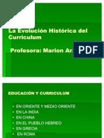 2011.101 Evolución Histórica del Curriculum