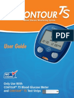CountourTS Diabetes Testing Instructions
