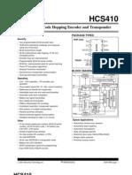 KEELOQ® Code Hopping Encoder and Transponder