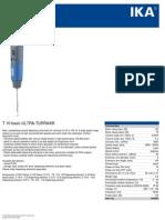 Data Sheet t 10 Basic Ultra-turrax