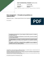 ISO 31000-2008 - Gerenciamento de Riscos