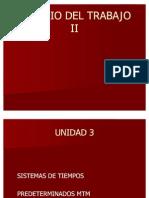 ESTUDIO DEL TRABAJO II - U 3