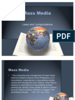 Mass Media - Laws and Jurisprudence