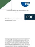 The Chhattisgarh Land Revenue Code (Amendment) Adhiniyam, 2002