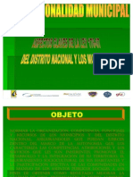 Institucionalidad Municipal..Ley 176-07