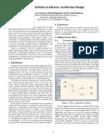 (eBook) Quality Attributes in Software Architecture Design