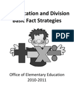 Multiplication and Division Basic Math Packet JULY 2010