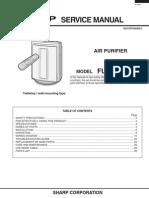 Service Manuals Sharp AIR PURIFYER FU 40SE J FU 40SE J Service Manual