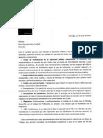 Carta Mineduc a La Confech 21 Junio 2011