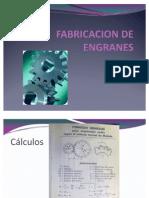 FABRICACION DE ENGRANES