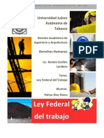 Principios Generales-ley Federal Del Trabajo