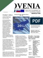 Slovenia SA Newsletter St. 58 2011