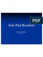 info pad booklets presentation