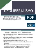 Funciones Del Neoliberalismo