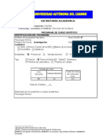 Formato Programa Sintetico Investigacion Cualitativa