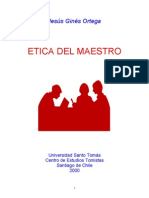 Etica Del Maestro