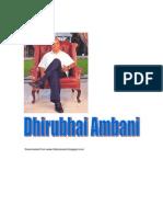 Dhirubhai Ambani Biography