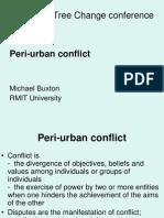 Peri Urban Conflict