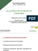 Politica de Turismo en Colombia