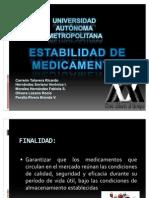 13 ESTABILIDAD DE MEDICAMENTOS