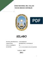 Curso a Contable II Silabus 2011 A