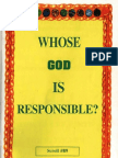 Whose God is Responsible?