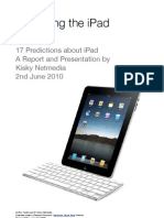 Predicting the iPad Report