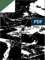 Mapa Ecologico Del Peru 1976 ONERN