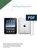 handleiding iPad leerkracht + leerling