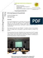 ELP - Water Audit Training Report - 28 May