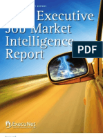 ExecuNet Executive Job Market Intelligence Report 2011