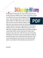 Sovereign Hill Camp