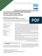 An Evaluation Framework for Health Information