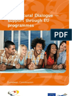Dialog Intercultural - sustinere din partea UE