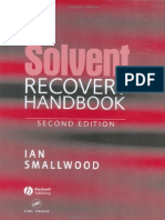 The Solvent Recovery Handbook, 2nd Ed - 0632056479