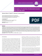 Clinical and functional description of a new form of autosomal recessive familial parkinson´s disease with late onset