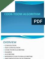 COOK-TOOM ALGORITHM