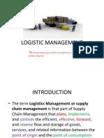 Logistic Management Sem IV Dabs- Unit i