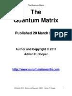 Adrian P. Cooper - The Quantum Matrix