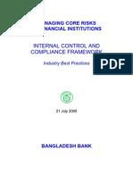 Internal Control Framework