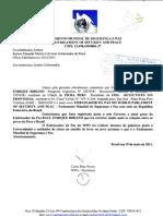 Oficio WPO Al Gobernador de Piura
