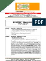 BUDAPEST CLASSIQUE - Package de voyage pour Groupes